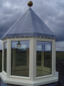 Accoya Roof Lantern for Exposed Location