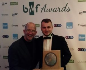 Greg Chosen as BWF Trainee of the Year