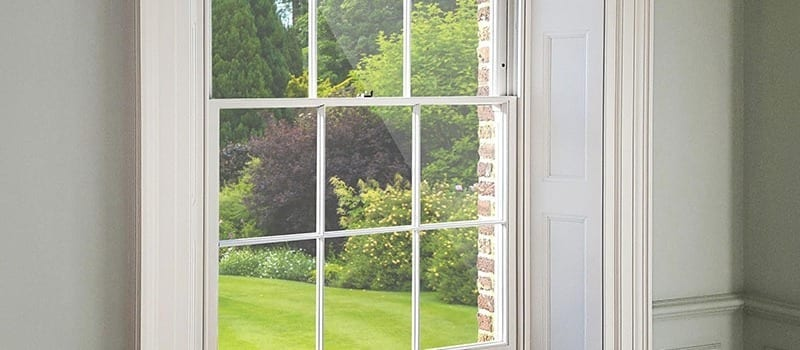Winston heritage windows by timber window manufacturer Gowercroft installed in a country home with lovely views