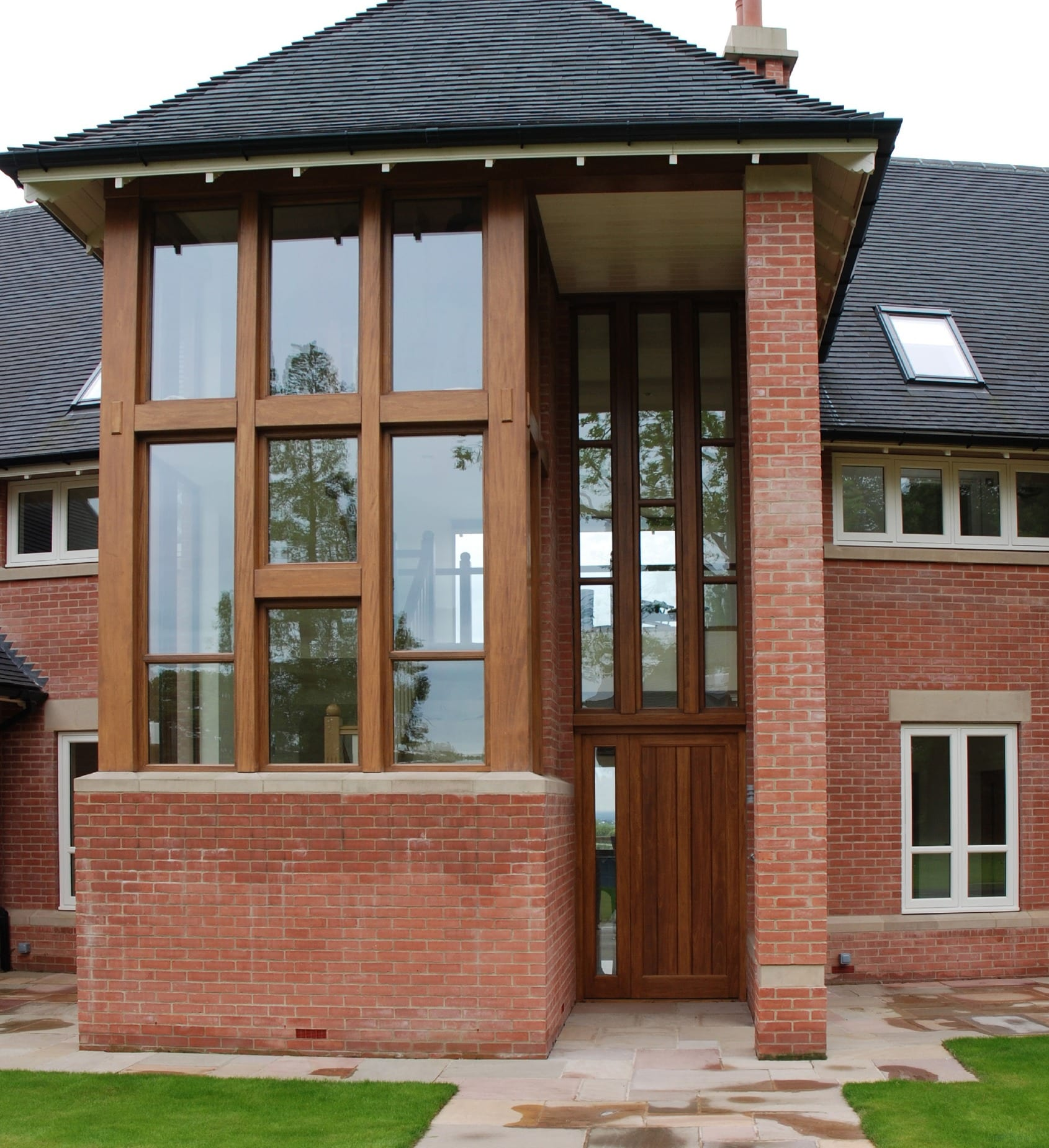 The Pastures external joinery front